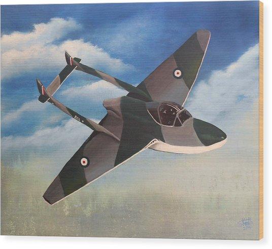 Flying High Wood Print