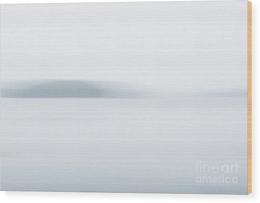 Foggy Bay 2 Wood Print