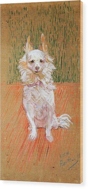 Wood Print featuring the painting Follette by Henri de Toulouse-Lautrec