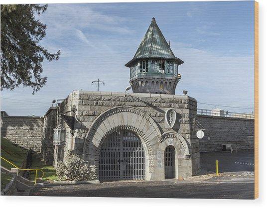 Folsom Prison In Folsom Wood Print
