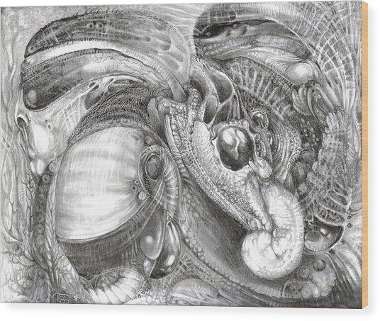 Fomorii Aliens Wood Print