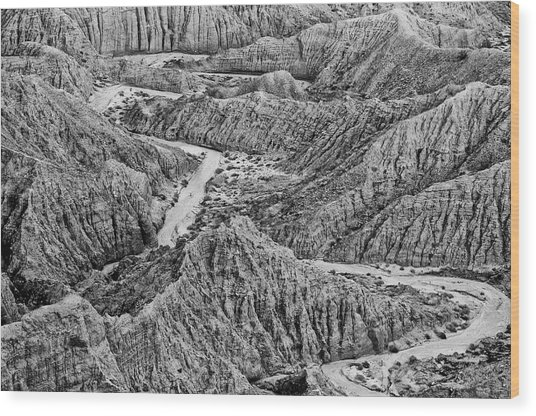 Font's Point - Great American Southwest Landscape Wood Print