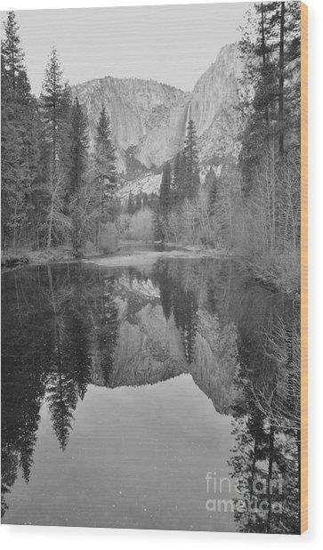 Footsteps Of Ansel Adams Wood Print
