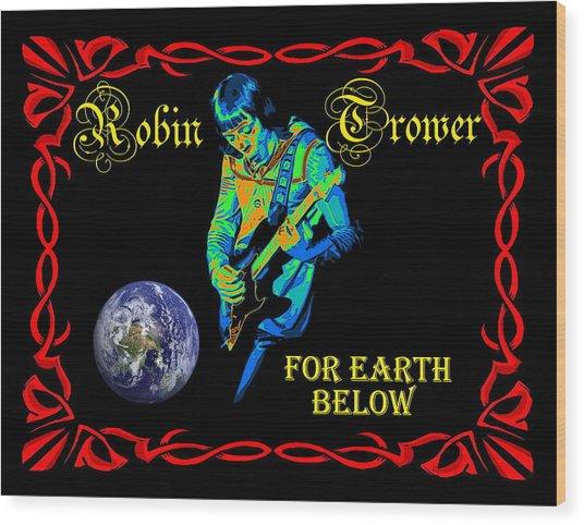For Earth Below #1 Wood Print