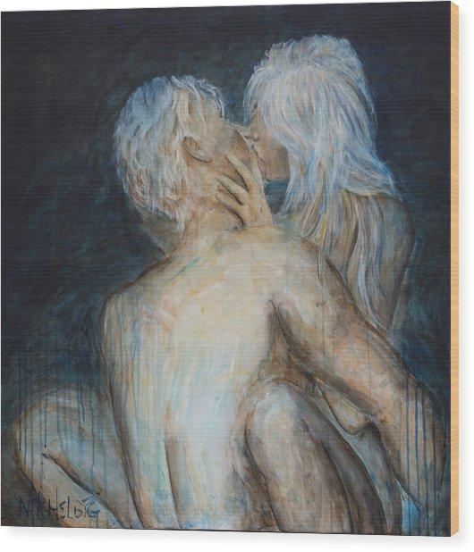 Forbidden Love - Erotica Wood Print