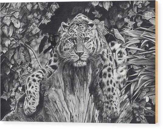 Force Of Nature Wood Print
