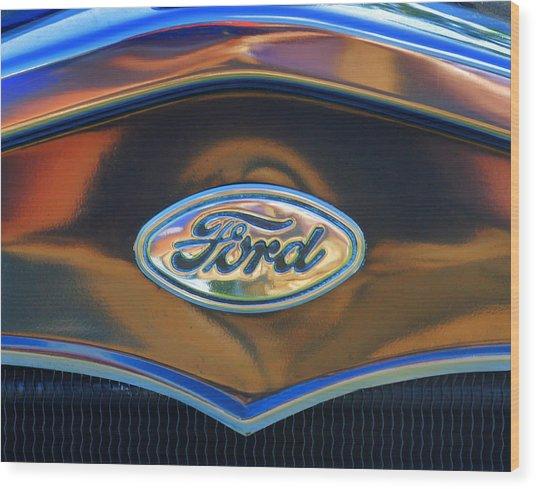 Ford 001 Wood Print