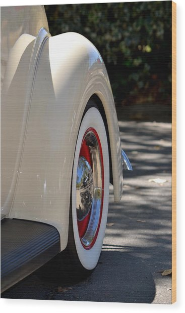 Ford Fender Wood Print