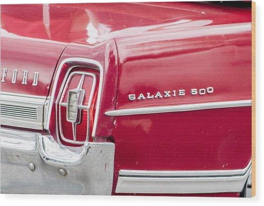 Ford Galaxie  Wood Print