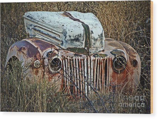Ford Gets A Facelift Wood Print