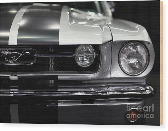 Ford Mustang Fastback - 5d20342 Wood Print