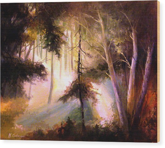Forest Forest Forest Wood Print