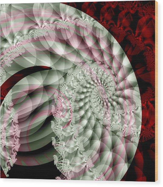 Forever Spiral Wood Print