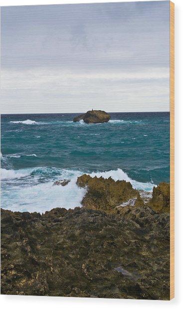 Forlorn Rock Wood Print by Matt Radcliffe
