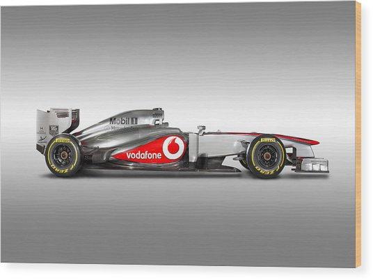 Formula 1 Mclaren Mp4-28 2013 Wood Print