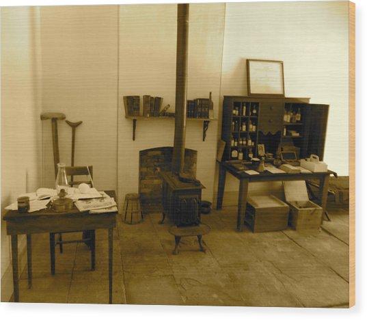 Fort Delaware General Office Wood Print