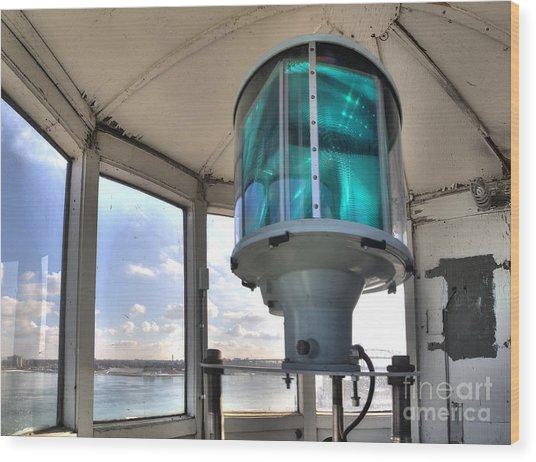 Fort Gratiot Lighthouse Lantern Room Wood Print