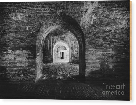 Fort Morgan Wood Print