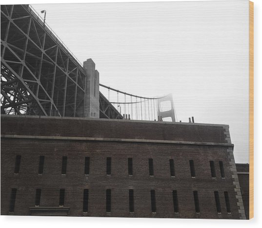 Fort Point Wood Print