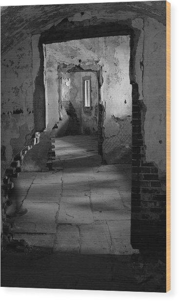 Fort Warren Wood Print