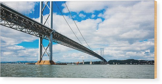 Forth Road Bridge Wood Print