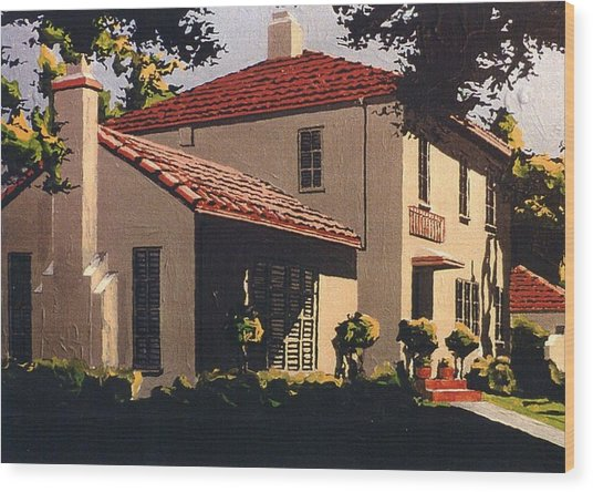 Forty First And Folsom Wood Print by Paul Guyer