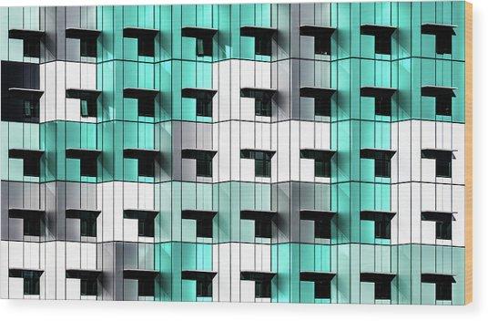 Forty Windows Wood Print by Wayne Pearson