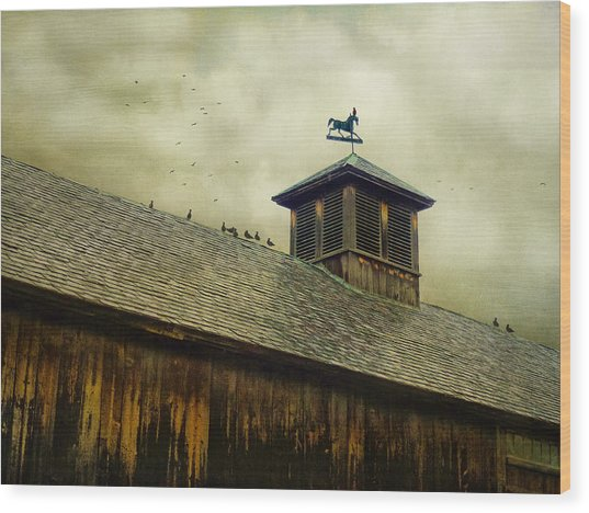 Foul Weathered Roost Wood Print
