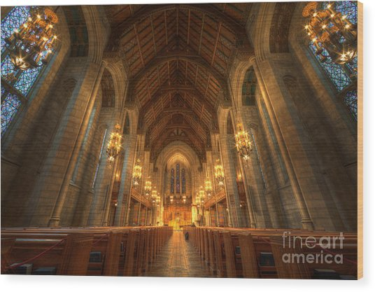 Fourth Presbyterian Church Chicago II Wood Print