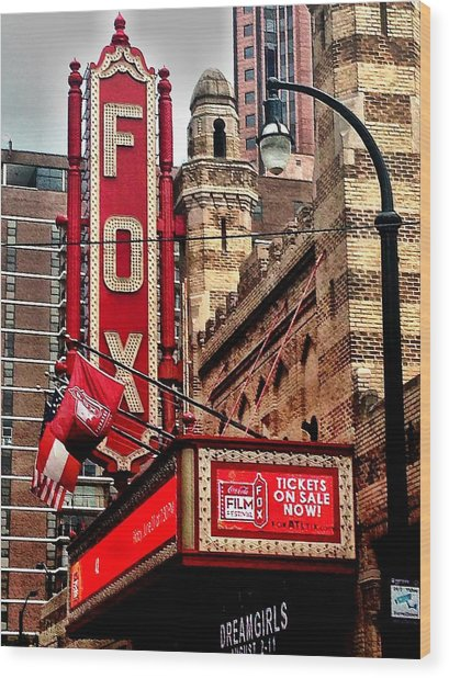 Fox Theater - Atlanta Wood Print