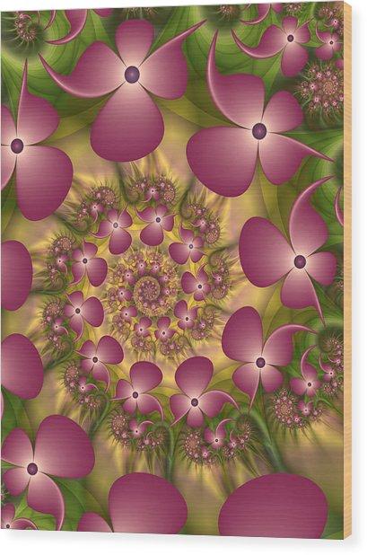 Fractal Joy Wood Print