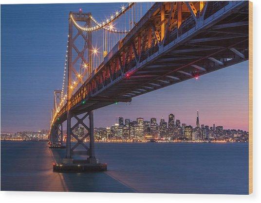 Framing San Francisco Wood Print