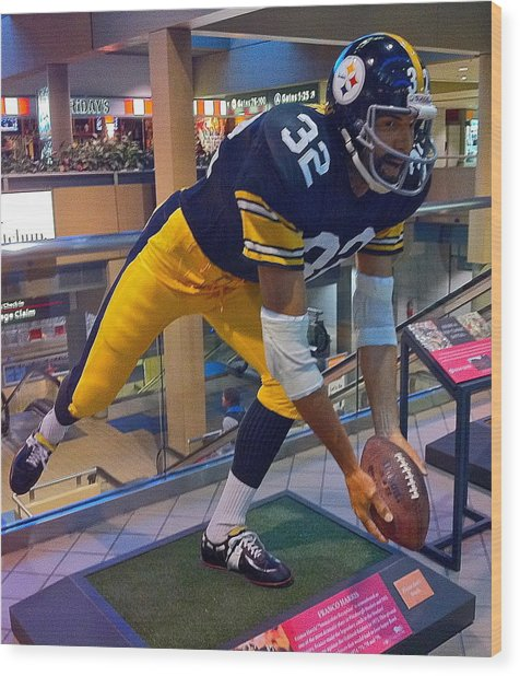 Franco's Immaculate Reception Wood Print
