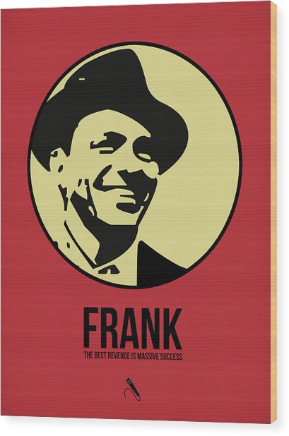 Frank Poster 2 Wood Print