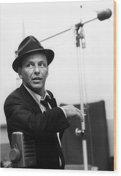 Frank Sinatra Wood Print by Retro Images Archive