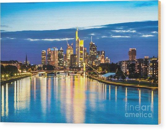 Frankfurt Am Main Wood Print