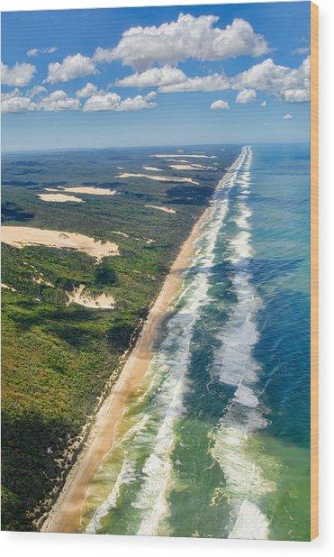 Fraser Island. Queensland Australia Wood Print