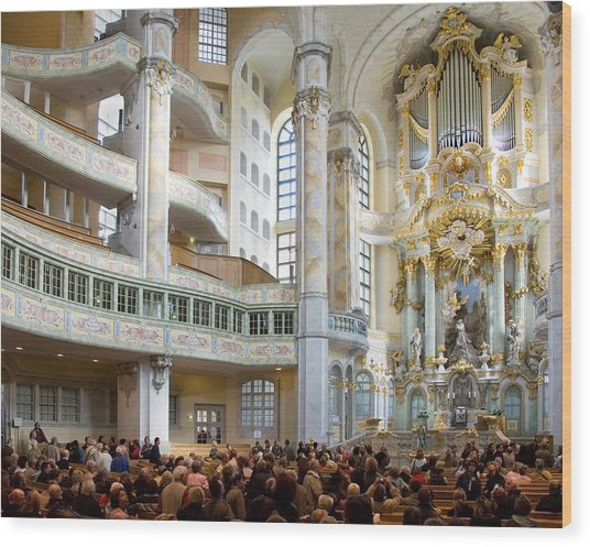Frauenkirche Wood Print