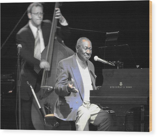 Freddy Cole And Elias Bailey Wood Print by Cleaster Cotton