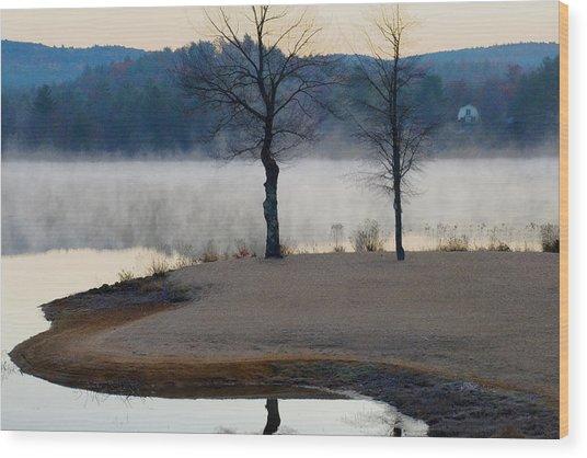 Freedom Mist Wood Print