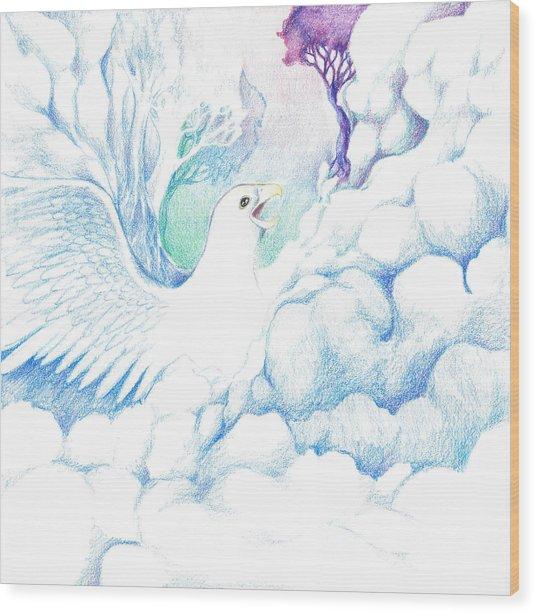 Freedom Oneness Art Wood Print
