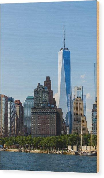 Freedom Tower 2 Wood Print