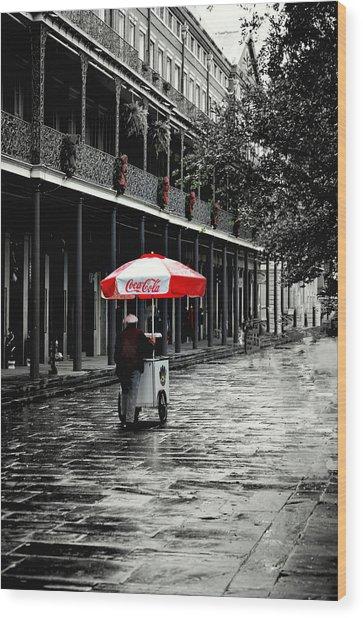 French Quarter Solitude...... Wood Print
