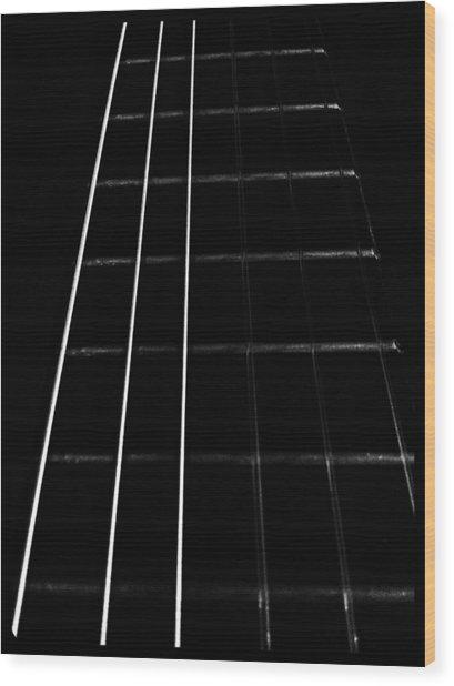 Fretboard Wood Print