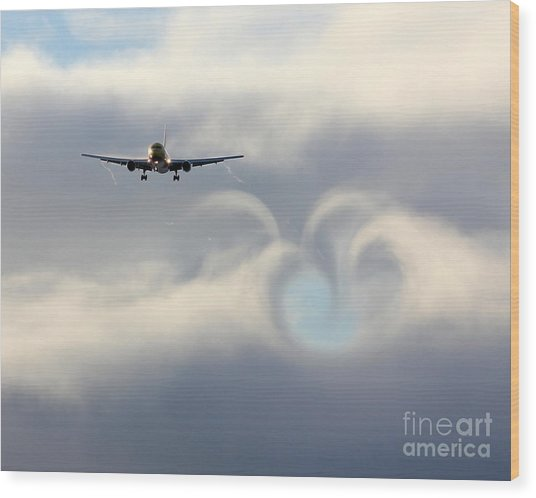 From Boeing With Love Wood Print