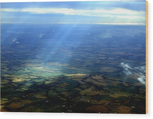 From The Sky 1 Wood Print by Maxwell Amaro