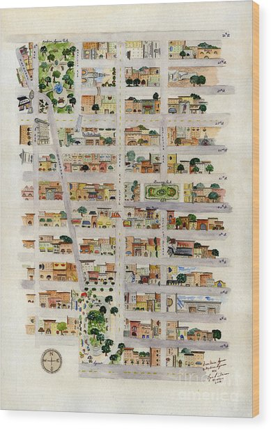 From Union Square To Madison Square Wood Print