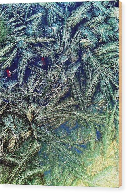 Frostian II Wood Print