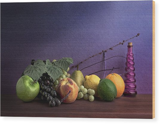 Fruit In Still Life Wood Print