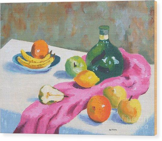 Fruit Still Life Wood Print